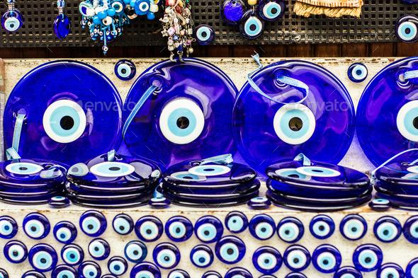 Eye bead - Stock Photo - Images