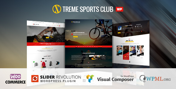 Xtreme Sports  – WordPress Club Theme