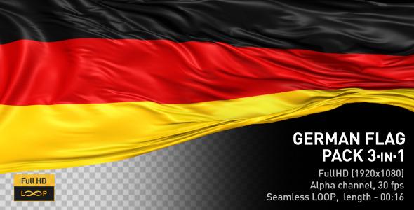 German Flag Pack