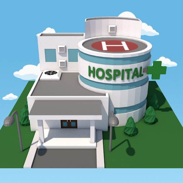 Hospital - 3DOcean Item for Sale