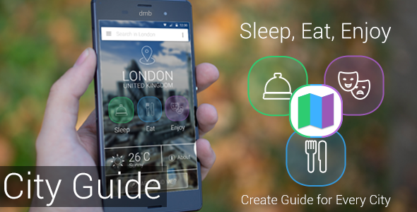 City Guide - Sleep, Eat, Enjoy - CodeCanyon Item for Sale