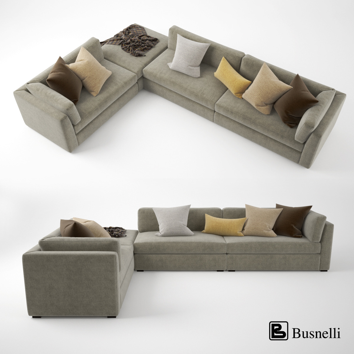 Preview Image Set/Busnelli Oh-mar Corner Sectional Sofa (1).jpg ... : corner sectional sofa - Sectionals, Sofas & Couches