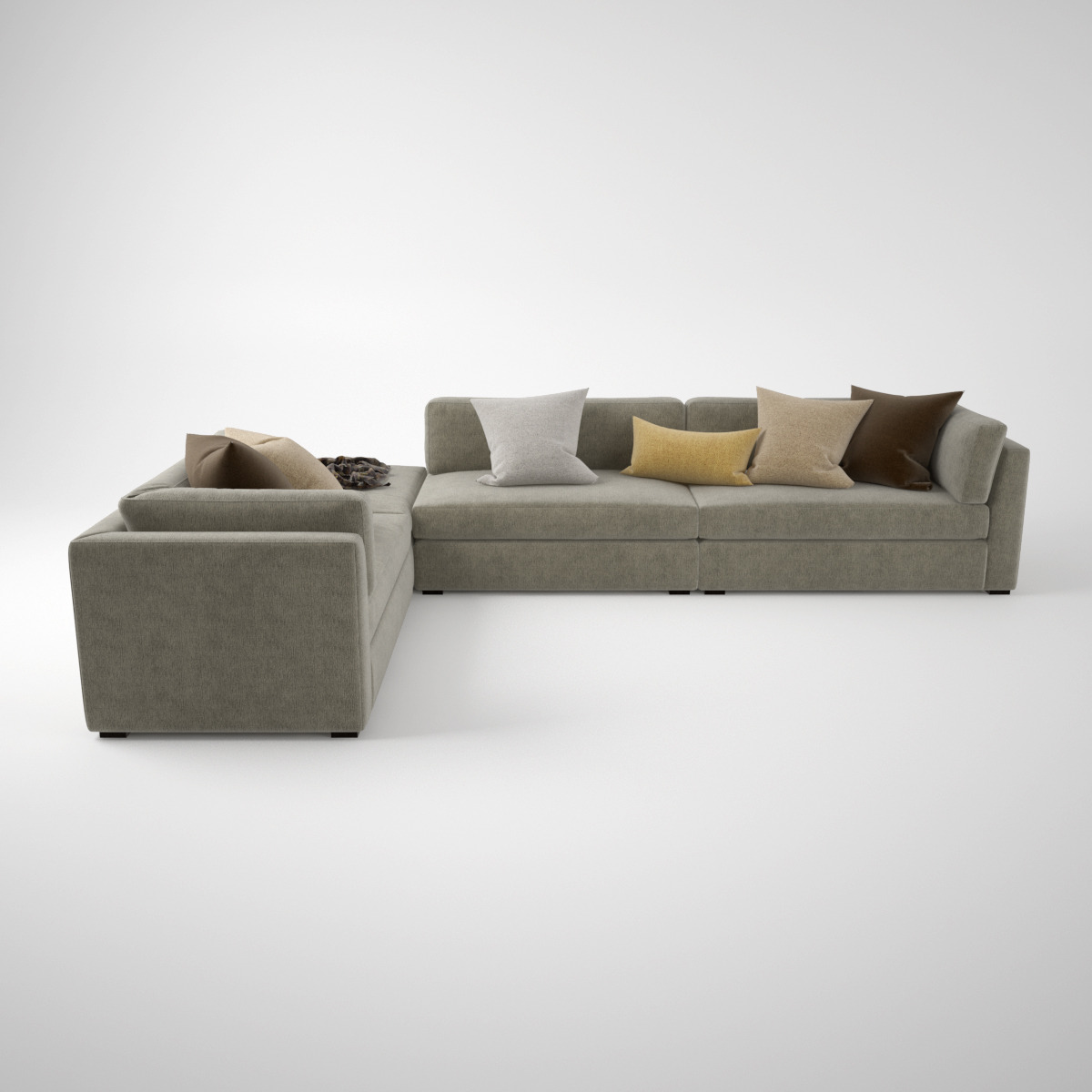 off used boconcept corner sale grey sofas sectional for
