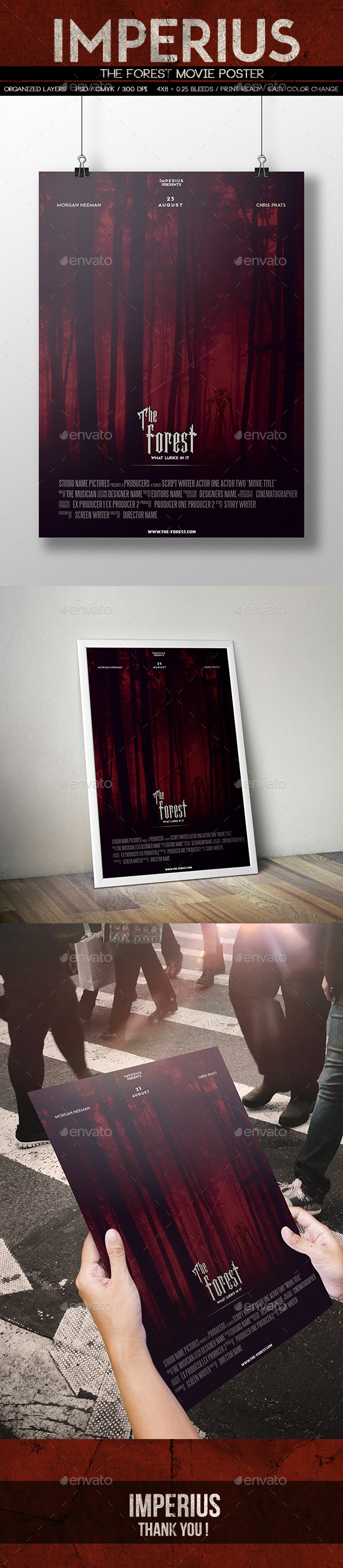 The Forest Poster - Miscellaneous Print Templates