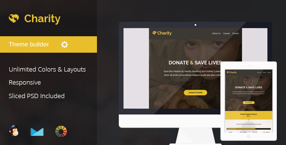 Charity Nonprofit Email Template