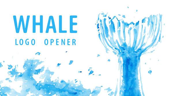 Logo Opener Whale