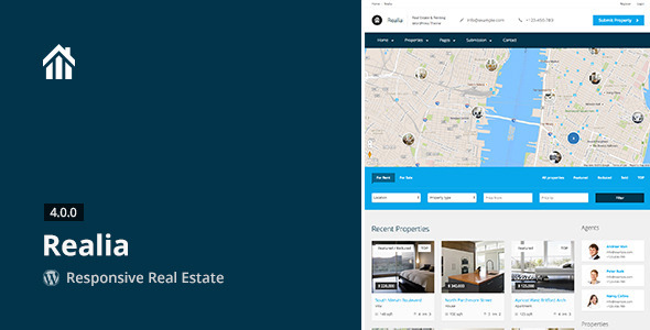 Realia – Responsive Real Estate WordPress Theme