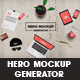 Artist Hero Mockup Generator - GraphicRiver Item for Sale