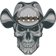 Skull Cowboy - GraphicRiver Item for Sale