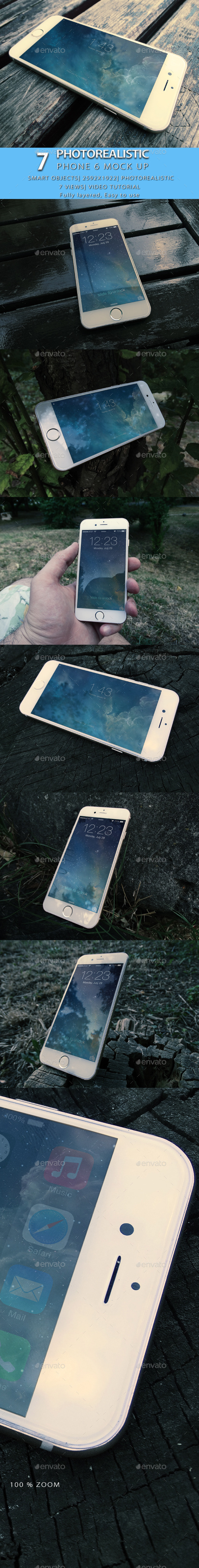 Phone 6 Mock Up - Mobile Displays