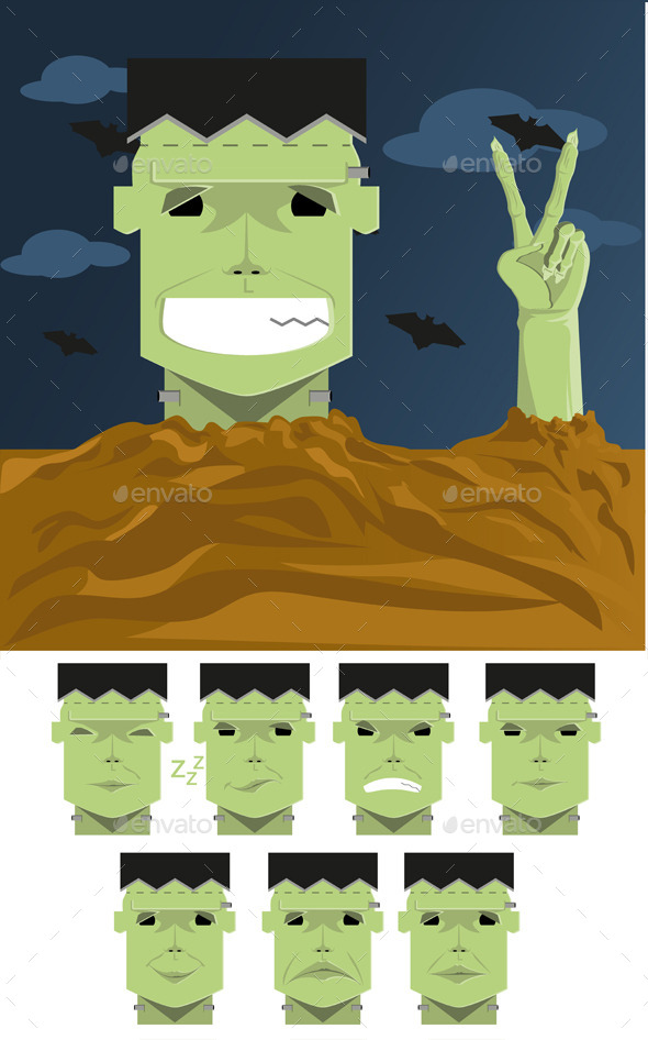 Frankenstein  - Halloween Seasons/Holidays