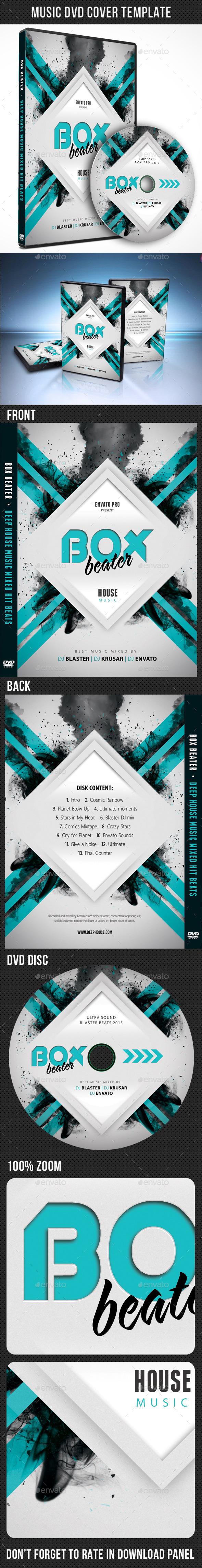 Music DVD Cover Template V08 - CD & DVD Artwork Print Templates