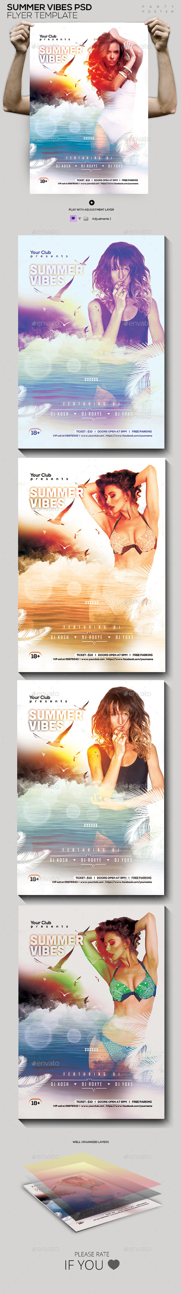 Summer Vibes Beach Party - Clubs & Parties Events