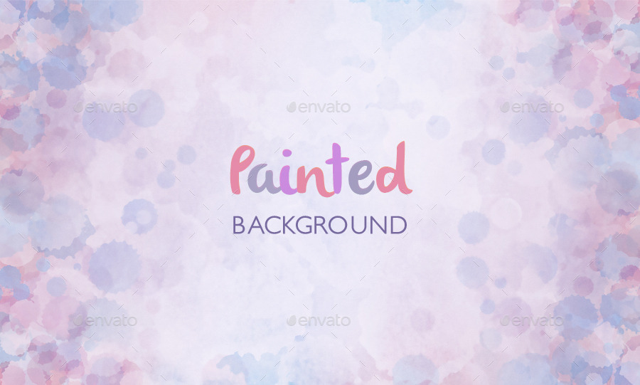 painted watercolor backgrounds by toivo