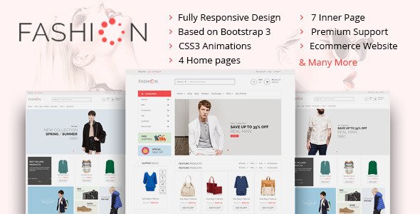 The Fashion eCommerce Shop HTML Template