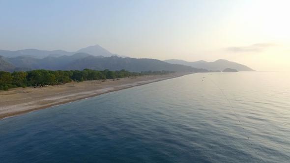 Beautiful Mediterranean Beach