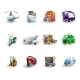 Transport and Delivery Icons Set - GraphicRiver Item for Sale