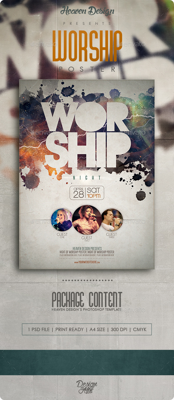 Worship | Poster - Events Flyers