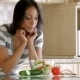 Beautiful Woman Eating Salad - VideoHive Item for Sale