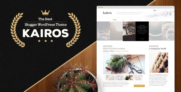 Kairos – WordPress Blog Theme