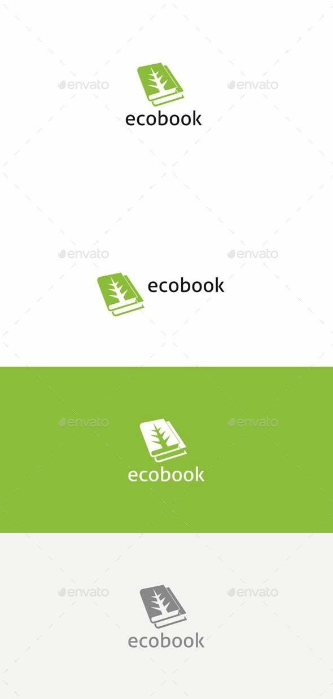 Eco Book - Logo Templates
