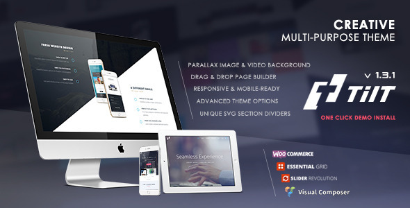 Tilt – Creative Multipurpose Theme