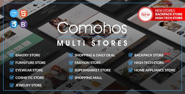 Comohos – Multipurpose Responsive OpenCart Theme