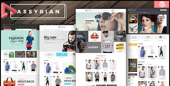 Assyrian – Responsive Fashion WordPress Theme