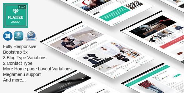 Flatize – Fashion eCommerce Joomla Template