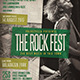 Rock Event Flyer / Poster Vol.5 - GraphicRiver Item for Sale