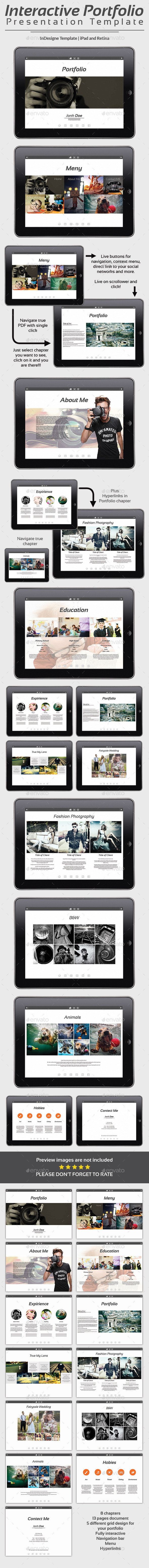 Interactive Portfolio Prezentation No1 - Digital Magazines ePublishing