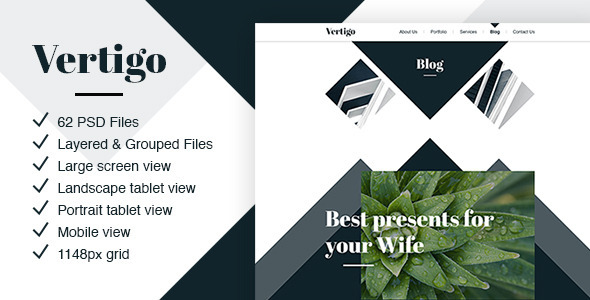 Vertigo – Creative Theme for Agencies & Companies