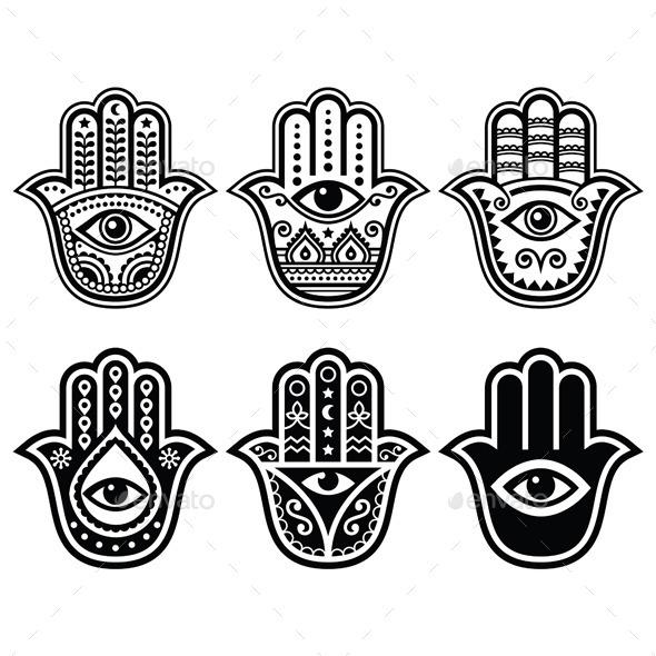 Hamsa Hand - Religion Conceptual