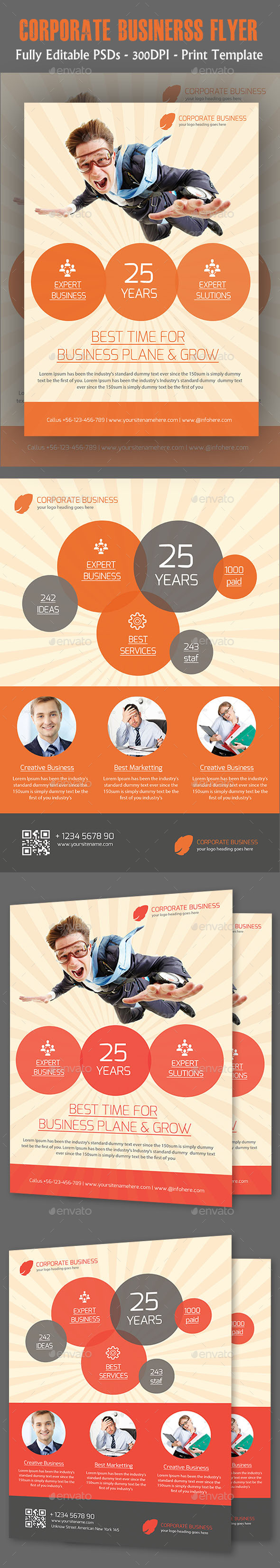 Corporate Business Flyer Templates - Flyers Print Templates