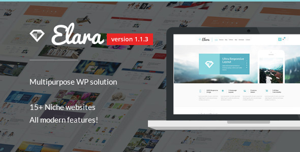 Elara – Multipurpose WordPress Theme