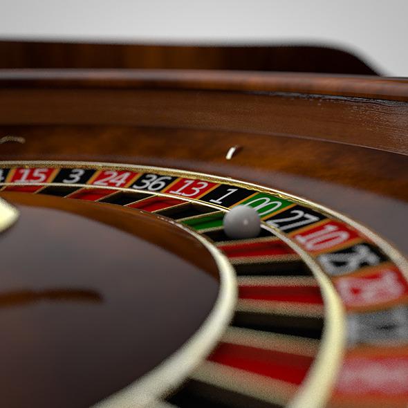 Roulette - 3DOcean Item for Sale