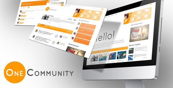 OneCommunity – BuddyPress Theme