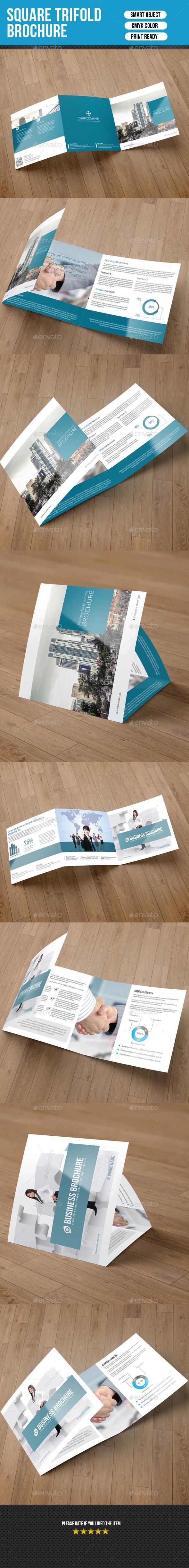 2 In 1 Square Trifold Brochure-V16 - Corporate Brochures