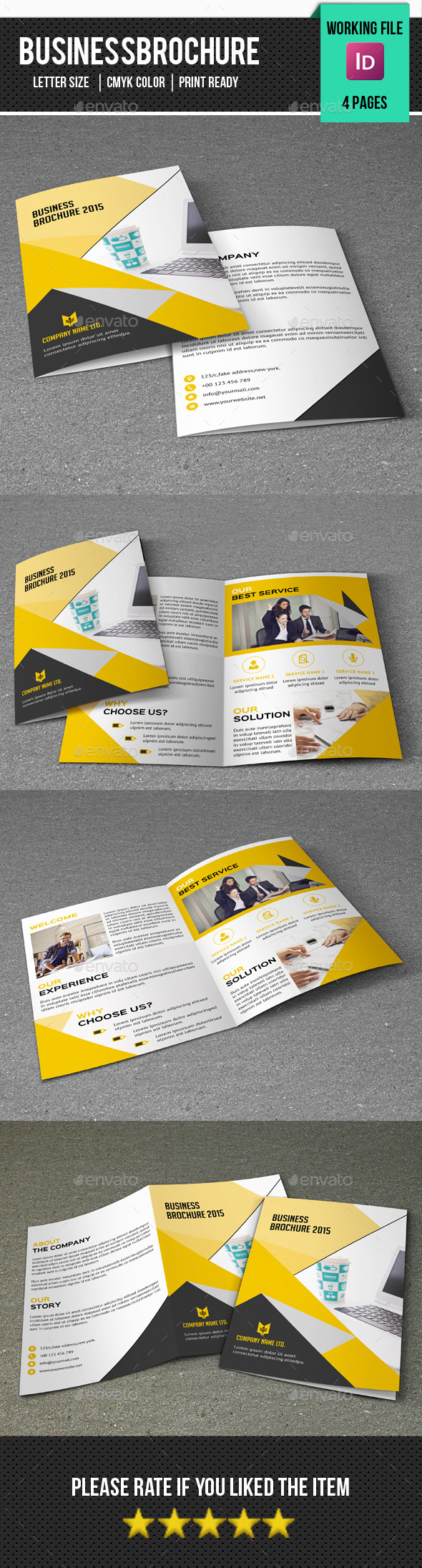 Corporate Bifold Brochure-V283