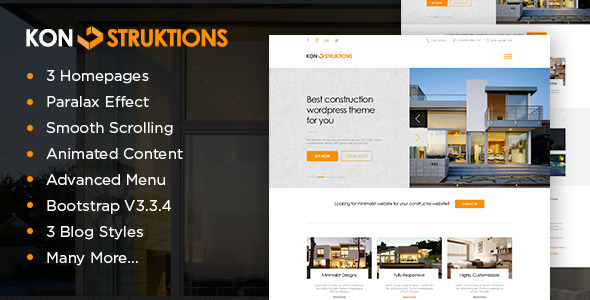 Konstruktion Construction Html Template