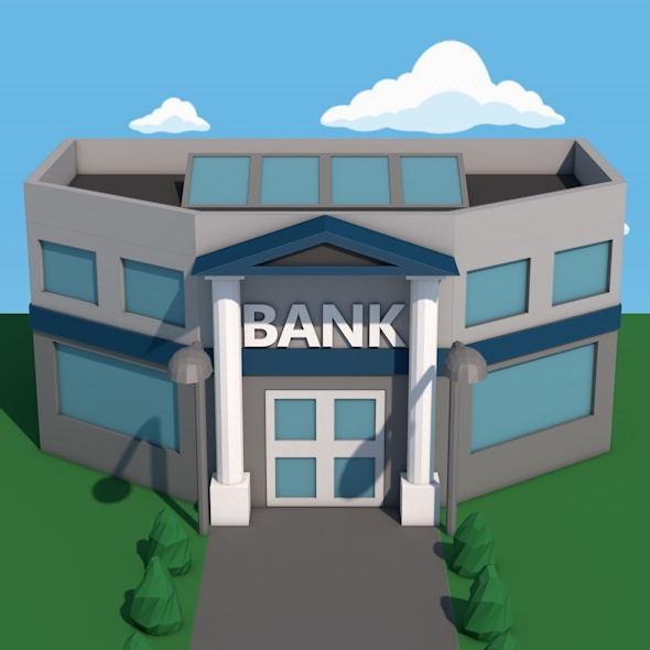 Bank - 3DOcean Item for Sale