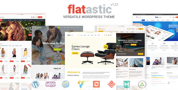 Flatastic - Versatile WordPress Theme