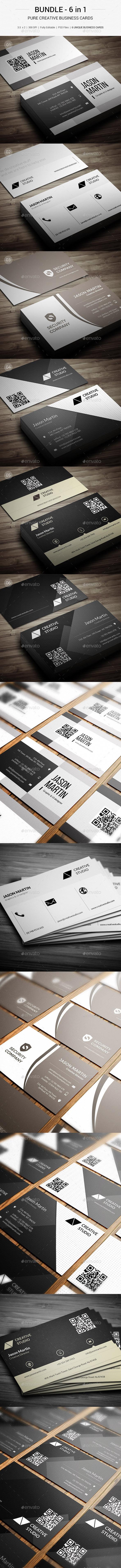 Bundle - Pure Corporate Business Card - 138 - Corporate Business Cards