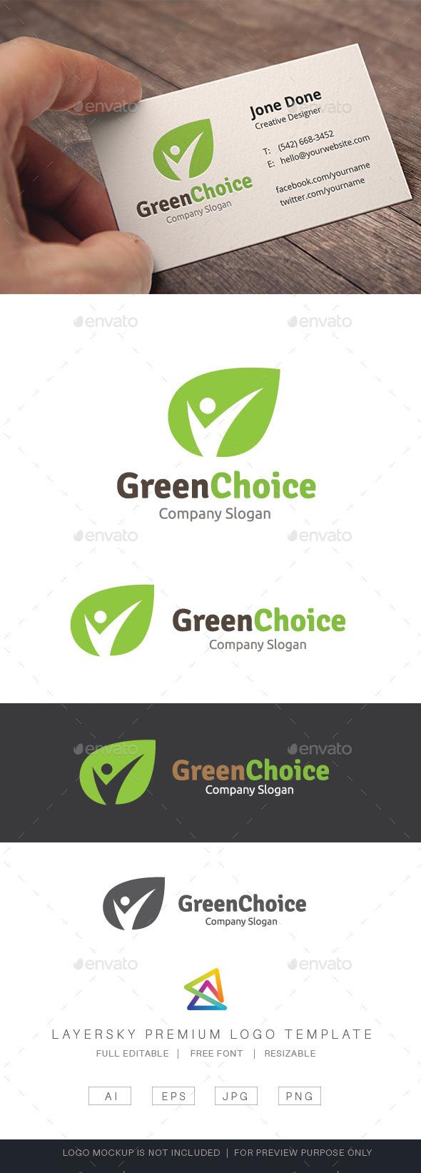 Green Choice - Nature Logo Templates