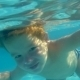 Boy Swimming Underwater In Swimming Pool - VideoHive Item for Sale