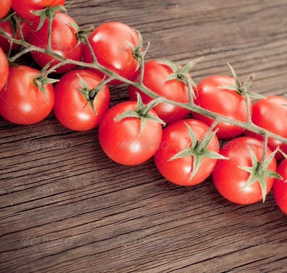 Cherry tomatoes - Stock Photo - Images
