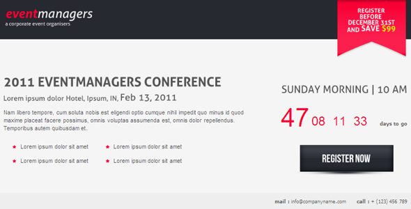 Free Download Eventmanagers Event Landing Page Nulled Latest Version
