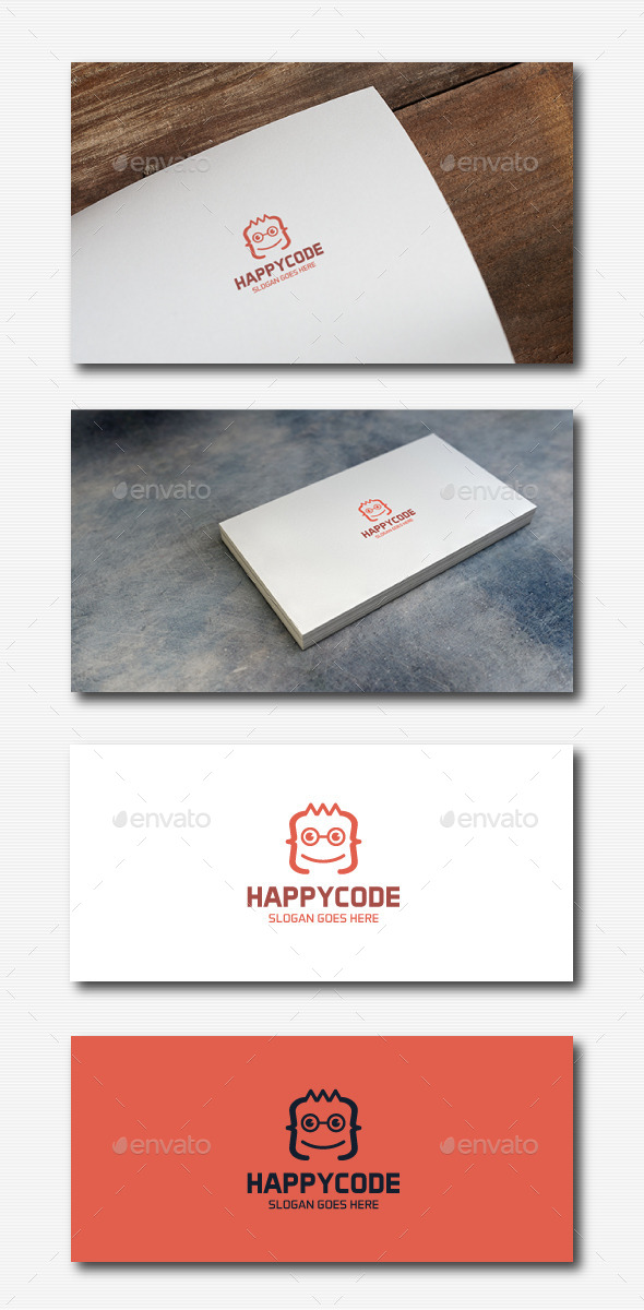 Geek Code Logo - Abstract Logo Templates