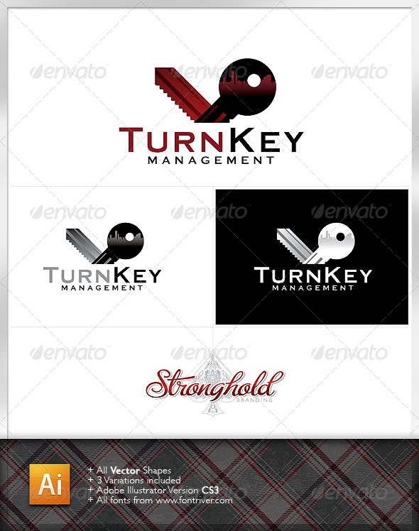 Turn Key Management Logo - Objects Logo Templates