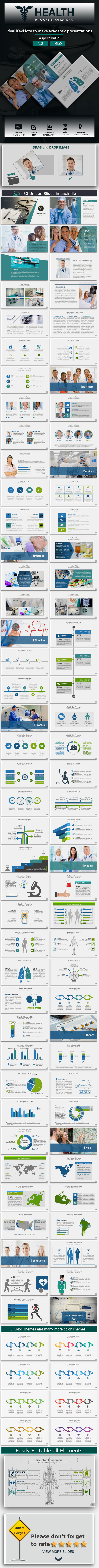 Health KeyNote Presentation Template - Miscellaneous Keynote Templates